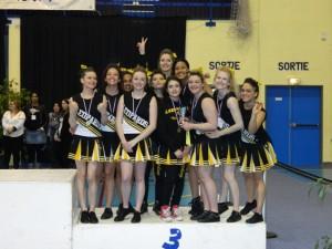 cheer podium